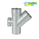 Finolex Single Y Door Fitting For Structure Pipe, Length: 75 And 90 Mm