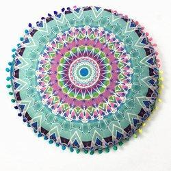 Star Mandala Round Cushion