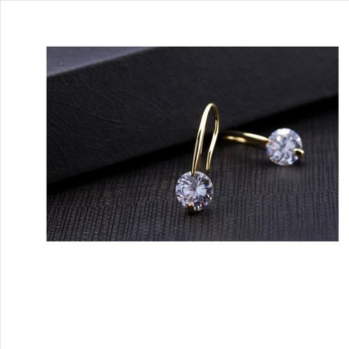 Sterling Silver High Quality Cz Elegant Earrings For Women