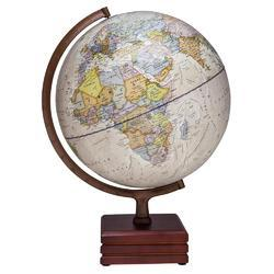 Antique Designer Wooden Style World Globe