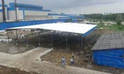 Fabrication of Industrial Shed