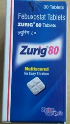 Zydus Zurig 80mg Tablets