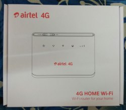Airtel 4g Home Wi-Fi B310 Gsm Fct