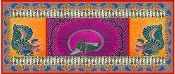Multicolor Polyester Muslin Digital Printed Dupatta Fabrics, for Garments, GSM: 100-150