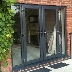 UPVC  Double Shutter Door