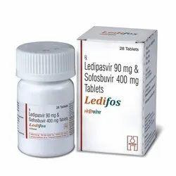 Ledipasvir 90 mg Sofosbuvir 400 mg Tablets