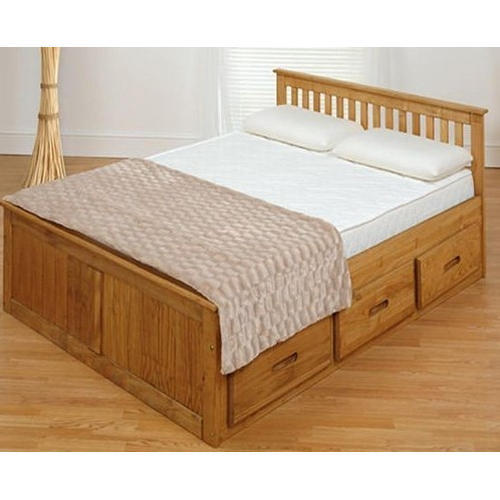 Storage Double Cabinet Bed at Rs 12500 /piece | Double Bed | ID ...