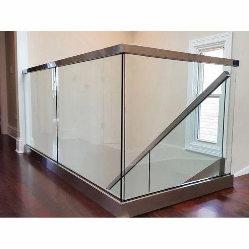 Interior Balcony Glass Railing