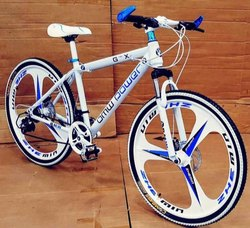 BMW Power White MTB Cycle