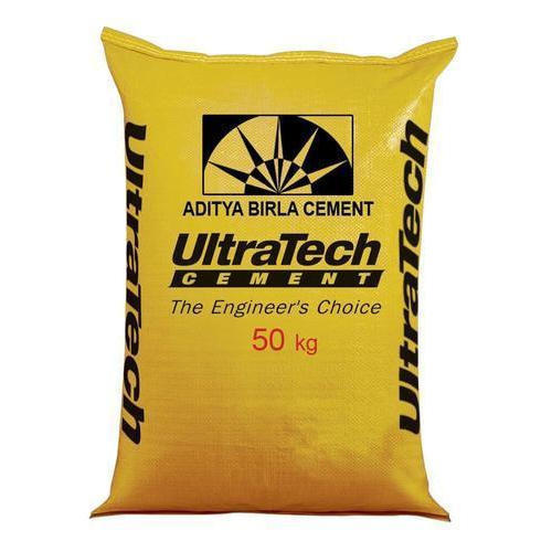 53 Grade UltraTech Cement, Packaging Type: Sack Bag