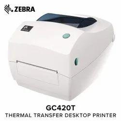 Desktop Barcode Printer, Zebra GC 420t