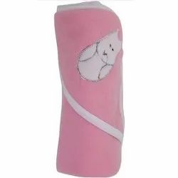 Little Cubs Boon Border Hooded Baby Blanket