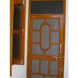 Laminated Wooden Jali Door