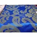 Cotton Western Wear Tms 2018 Blue Bed Sheet Fabric, 100 - 150