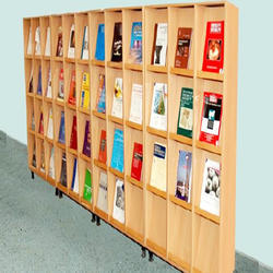 Wooden Library Shelves