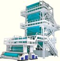 Ms Automatic Blown Film Extrusion Line, Production Capacity: 150 - 300 ( Kg/hr )