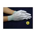 Carbon Knitted PU Palm Coated ESD Gloves