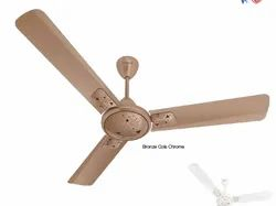 Antilia Bronze Cola Chrome Ceiling Fan