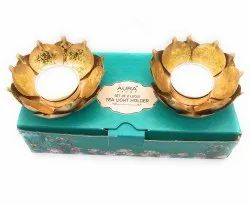2 Lotus Tea Light Holder