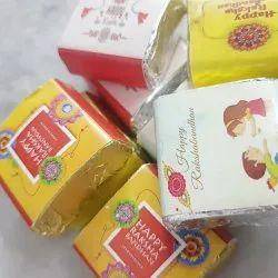 Piece Dark Chocolate Rakshabandhan Rakhi homemade chocolates, For Gift Purpose