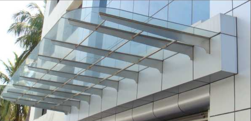 Canopies ACP And Glass Fitting Service in Lalpur, Ranchi, Crew Built