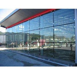 Transparent Toughened Building Glass