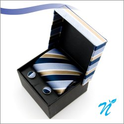 Neck Tie With Cufflink Gift Set