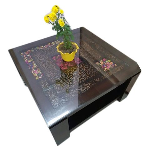 37 Wooden Center Table Design With Glass Top
