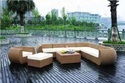 Luxury Rattan Sofa Set