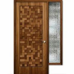 Solid Wood Carved Wooden Door, For Home,Hotel