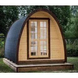 Mild-steel Modular Camping Cabin, Capacity: 2 To 4 People