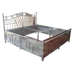 Stainless Steel Bed, Single Bed