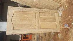 Wooden Teak Doors, Size: 81x40