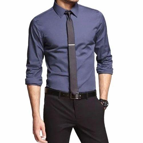 55f8795ec4cf Cotton Men Slim Fit Formal Shirt, Rs 400 /piece, P & S CREATION | ID ...