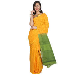 Jute Cotton Formal Wear Traditional Cotton Saree