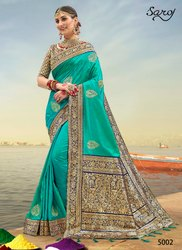 Designer Fancy Colour Party Wear Saree