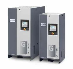 Atlas Copco Oil Injected Screw Air Compressor from 2 KW to 90KW