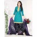 Printed Punjabi Suit