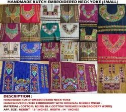 Indian Hand Embroidered Neck Yoke
