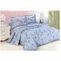 Flower Printed Fancy Bed Sheet