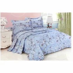 Flower Printed Fancy Bed Sheet