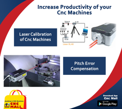 Laser Calibration Services for CNC Grinding CNC Hobbing CNC VTL CNC Boring Machine