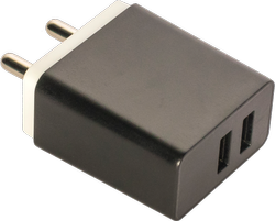 Black Car Charger Wall Charger, Model Number: ESU431