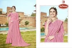 Fancy Lucknowi Work Saree - Khushboo