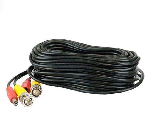 4 x 25 ft BNC Video and Power Cable Wire Cord Connector for CCTV Security Camera