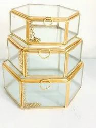 Gift Collections Glass Jewellery Boxes