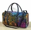 Printed Light Weigth Foldable Duffle Bag