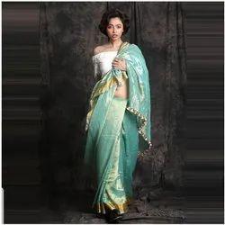 Tesu Silk Saree, Machine Made ,6.3 M (With Blouse Piece)