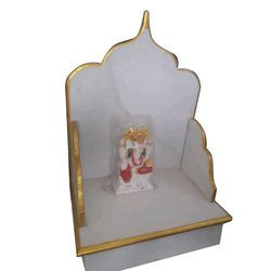 Indoor White Marble Singhasan, Size: 12x18x15 Inch
