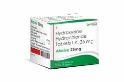 Atarise 25mg - Hydroxyzine Hydrochloride